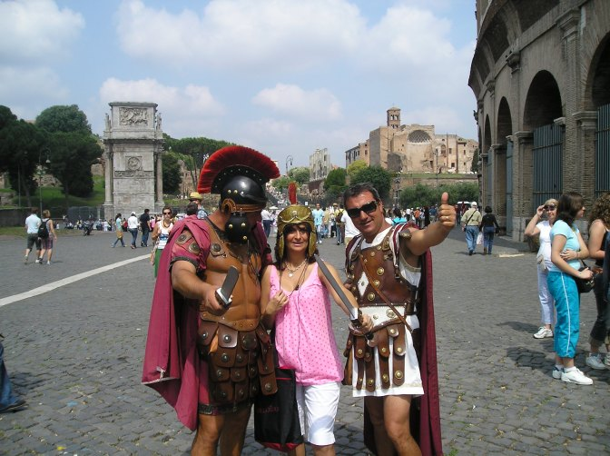 Experiencing Colossal Rome