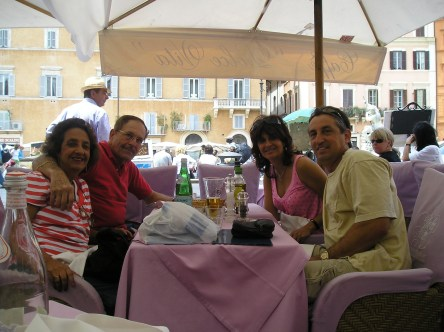 Lunch at Piazza Navona