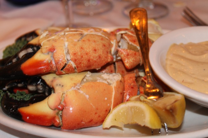 Stone Crabs And Bubblies Galore For My Birthday