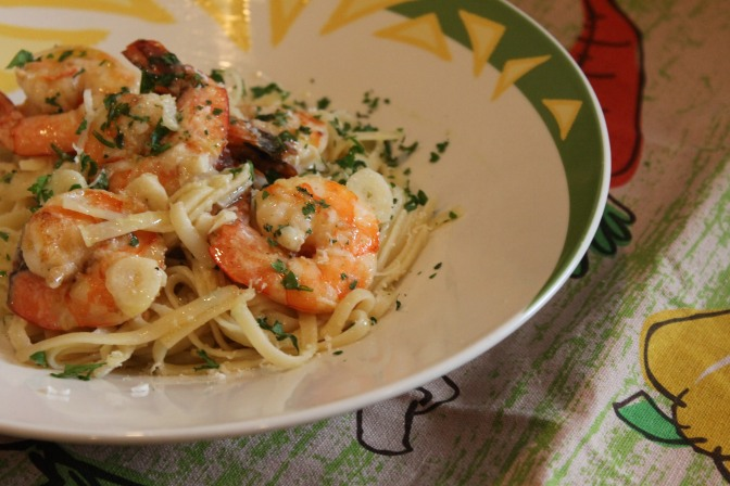 Shrimp Scampi, Oh-So-Yummy