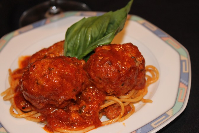 Veal Meatballs with Pecorino Cheese & Sweet Italian Sausage