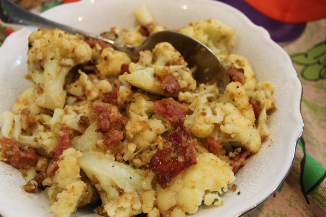 Cauliflower With Pancetta