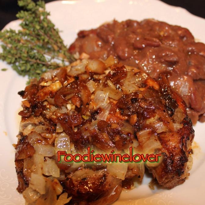 Pork Loin Chops Cuban-Style