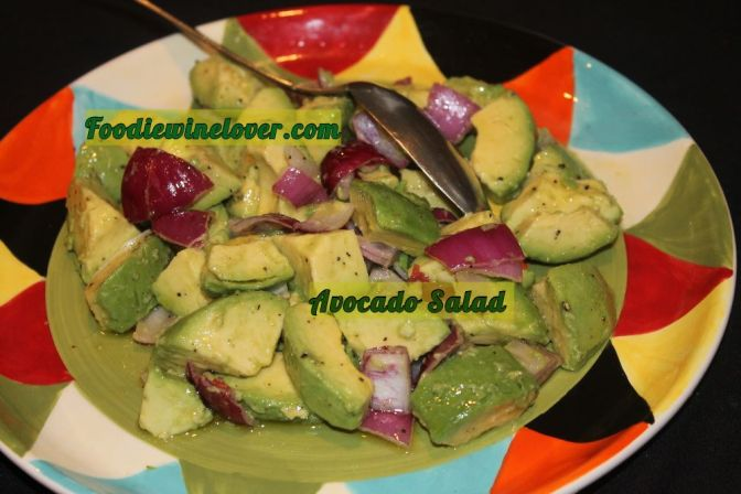 Cinco De Mayo Avocado Salad