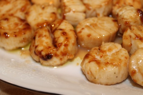 Citrus-Marinated Scallops