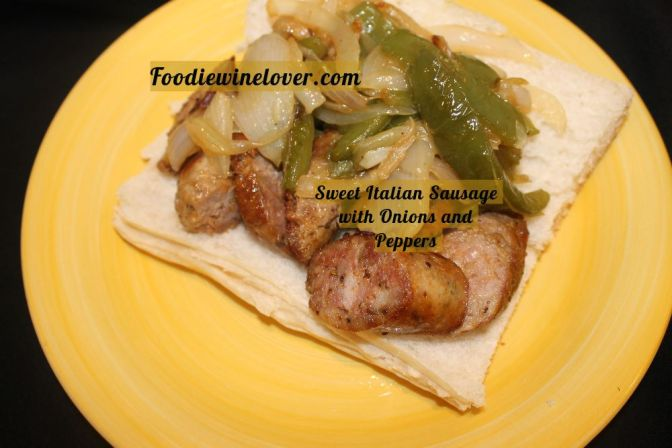 Sweet Italian Sausage With Onions & Peppers