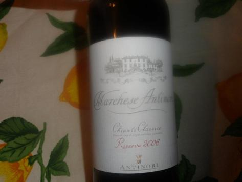 Marchese Antinori Chianti Classico Riserva 2006
