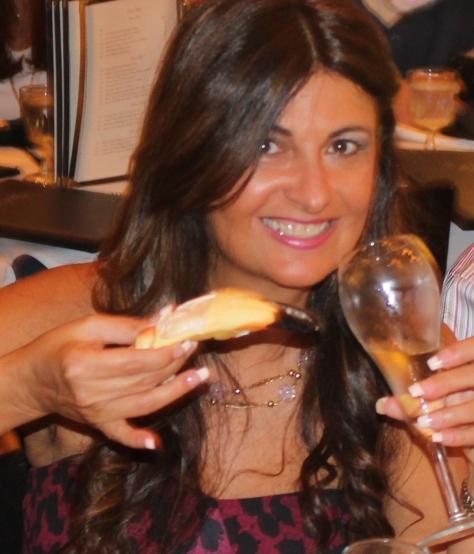 Foodiewinelover Gina Martino Zarcadoolas