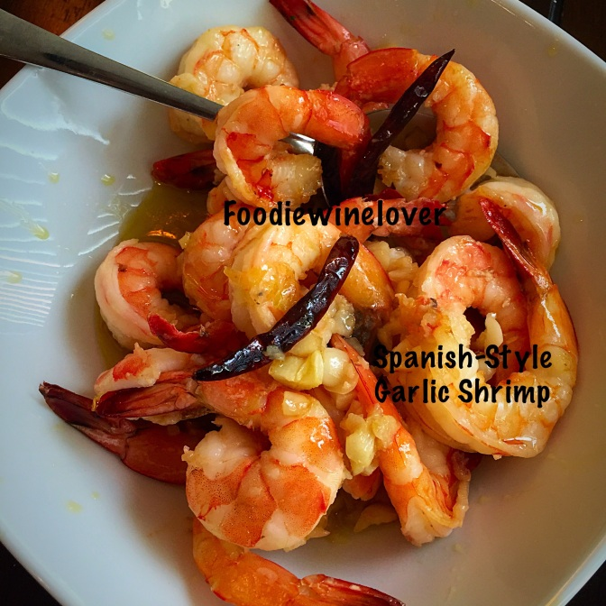 Gambas al Ajillo, Spanish-Style Garlic Shrimp