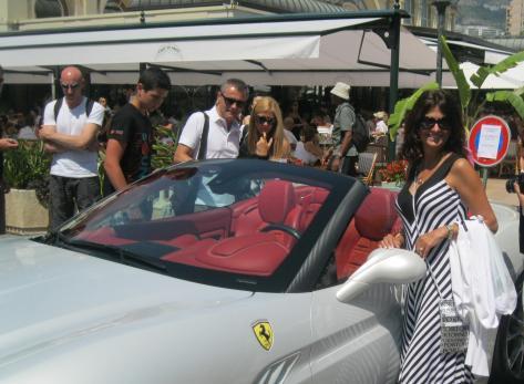 Ferrari in Glitzy Monte Carlo