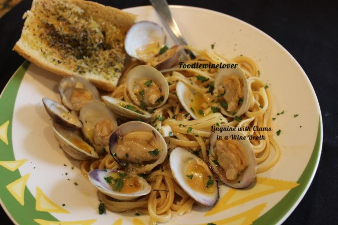 Linguine with Clams with a Wine Broth