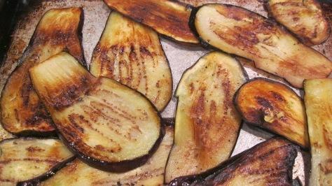 Broiled Eggplants