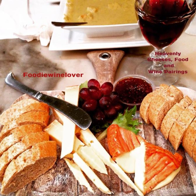 Heavenly Cheeses, Food & Wine Pairings