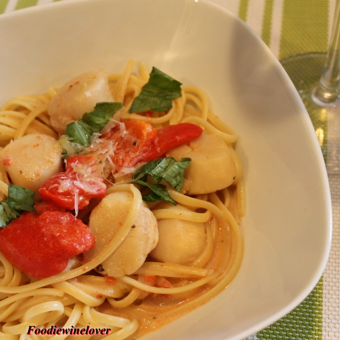 Scrumptious Seafood Pasta Dish #2 With a Twist