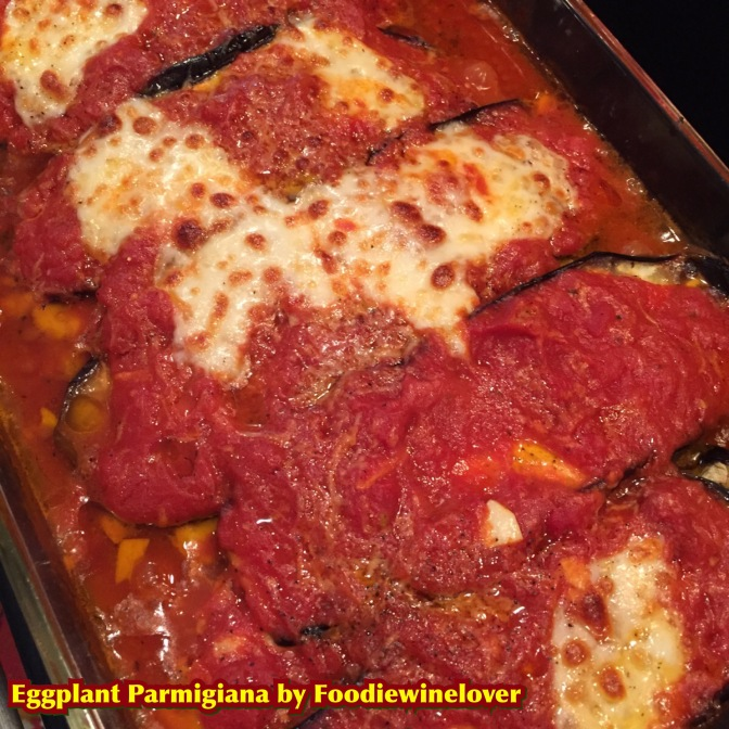Healthier version of Eggplant Parmigiana