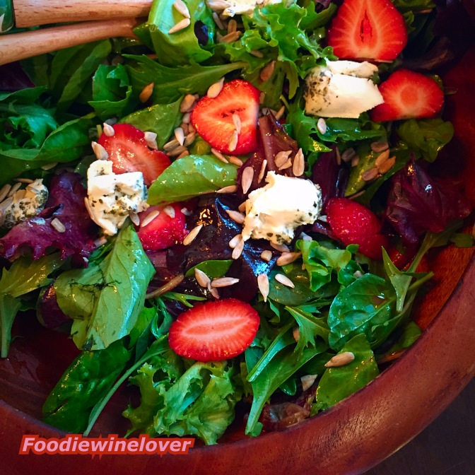 Delicious Field Greens & Strawberry Salad