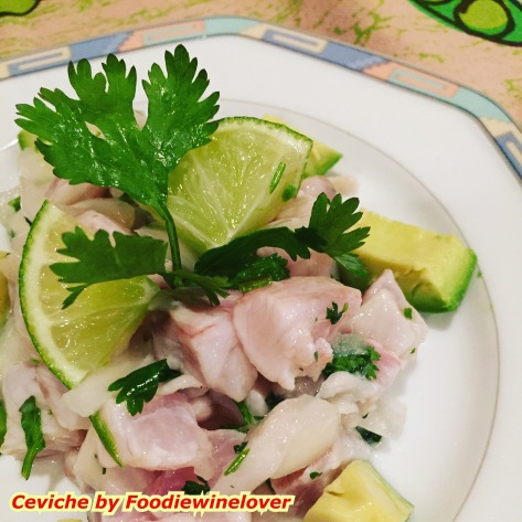 Ceviche by Foodiewinelover