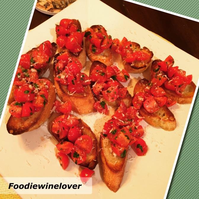 Gina's Luscious Tomato Bruschetta