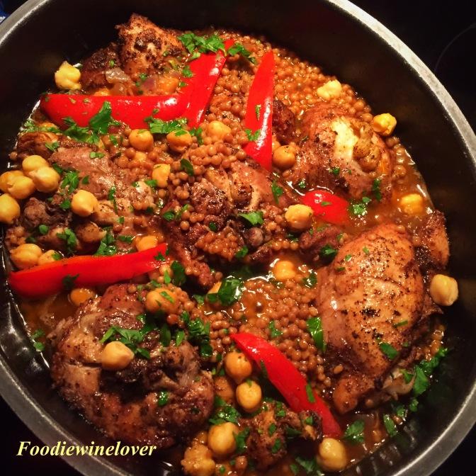 Arabic-Style Belly Dancing Chicken