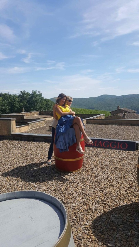 Enjoying La Dolce Vita with Ilaria at Fattoria di Montemaggio