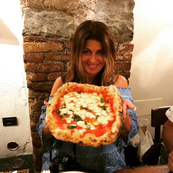 Sorbillo Pizza in Napoli, Italia